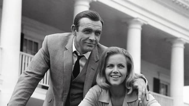Sean Connery und Honor Blackman