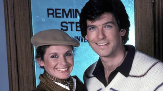 Stephanie Zimbalist und Pierce Brosnan