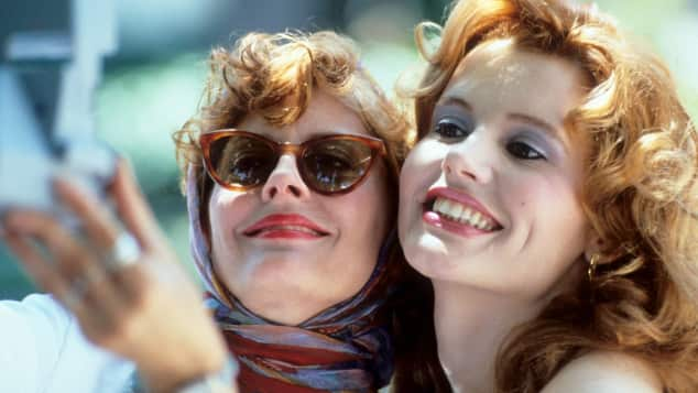 Susan Sarandon und Geena Davis
