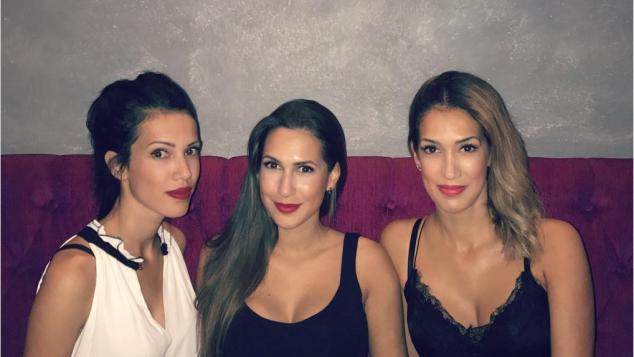 Tamara, Clea-Lacy und Romina