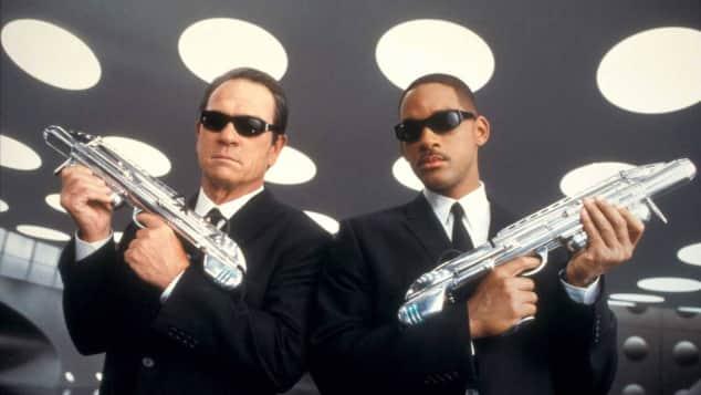Tommy Lee Jones und Will Smith