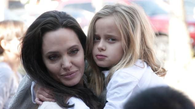 Vivienne Jolie-Pitt und Angelina Jolie
