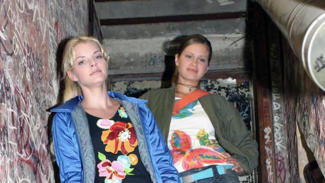Yvonne Catterfeld und Josephine Schmidt