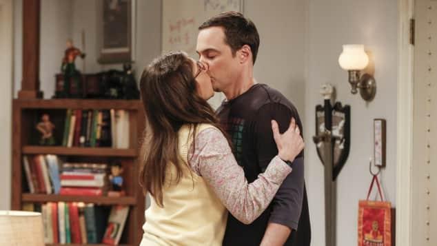 """Amy"" und ""Sheldon"""