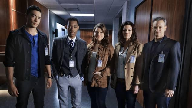 """Criminal Minds: Beyond Borders""-Cast"