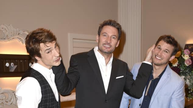 """""""Sturm der Liebe"""": Sebastian Fischer, Dieter Bach und Florian Frowein"""