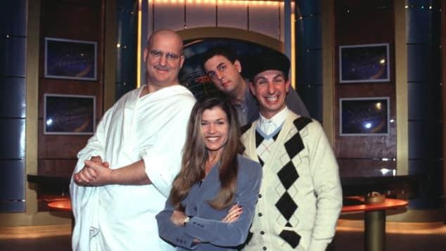 """Wochenshow""-Cast, 1999"