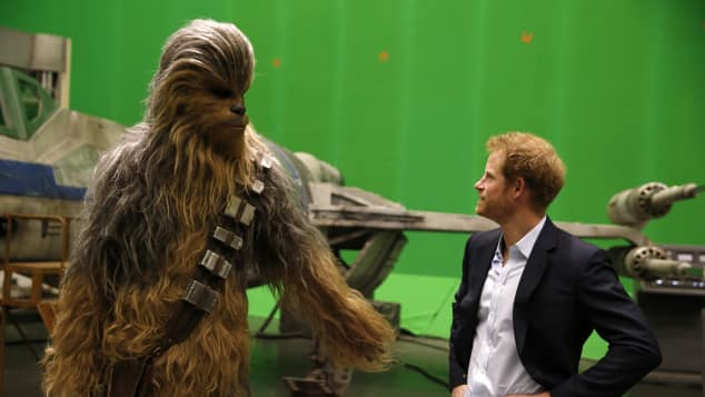 """Chewbacca"" und Prinz Harry"