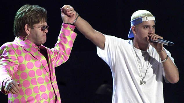 Elton John und Eminem
