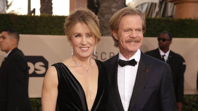 Felicity Huffman und William H. Macy