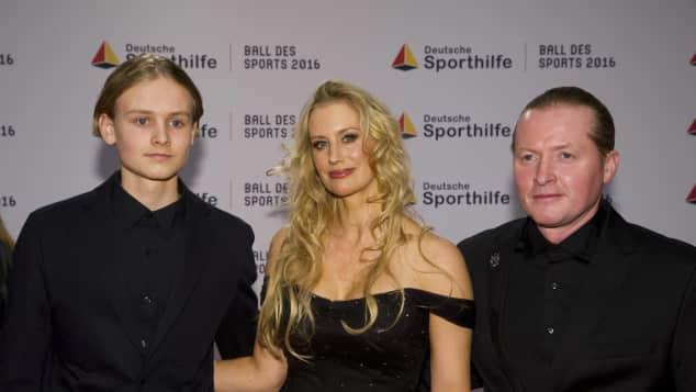 Joey Kelly, Tanja Niethen und Sohn Leon