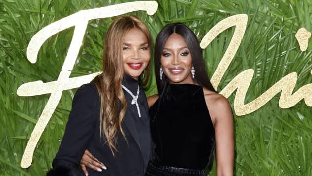 Naomi Campbell und ihre Mutter Valerie