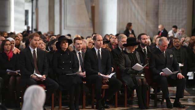 Prinz Harry, Herzogin Catherine, Prinz William, Camilla und Prinz Charles