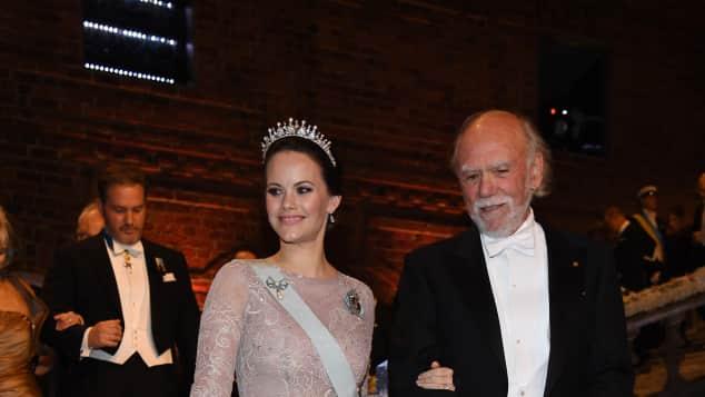 Prinzessin Sofia von Schweden und Barry C.Barish
