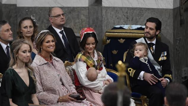 Prinzessin Madeleine, Prinzessin Sofia, Prinz Gabriel, Prinz Carl Philip, Prinz Alexander