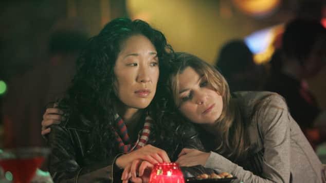 Sandra Oh und Ellen Pompeo