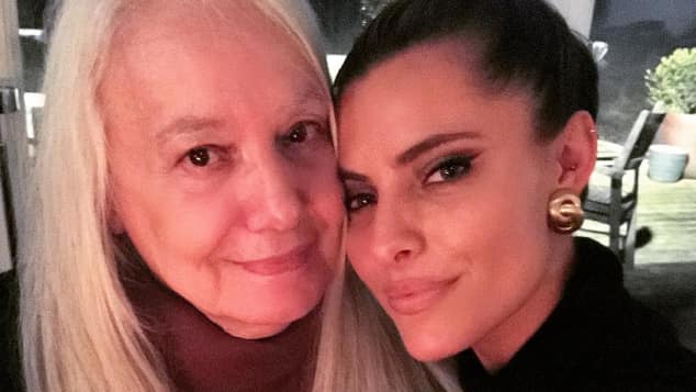 Sophia Thomalla und ihre Oma