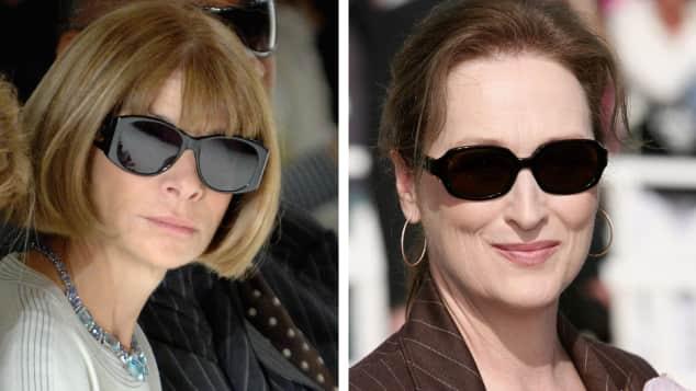 Anna Wintour und Meryl Streep