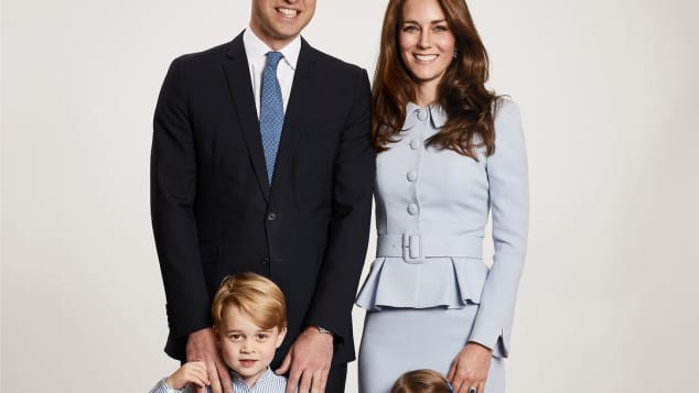 Prinz William, Herzogin Catherine, Prinz George und Prinzessin Charlotte