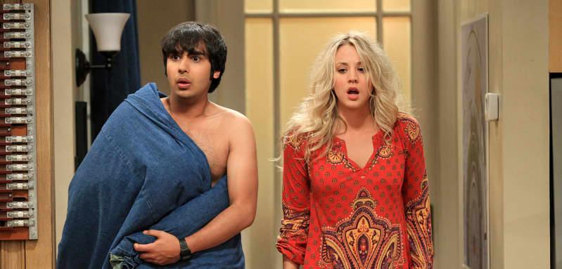 """""""Big Bang Theory""""-""""Penny"""" und """"Raj"""""""