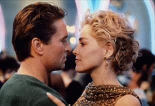 Michael Douglas und Sharon Stone