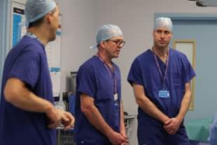 Prinz William Royal Marsden Krankenhaus