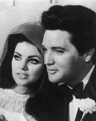 Priscilla und Elvis Presley