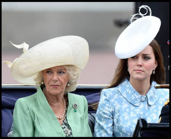 Camilla Parker-Bowles und Kate Middleton