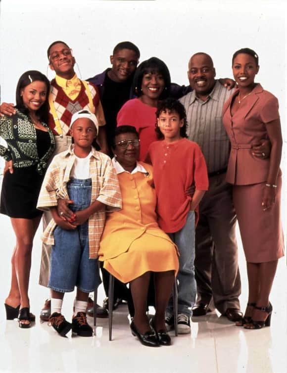 Carl Winslow und seine große Familie