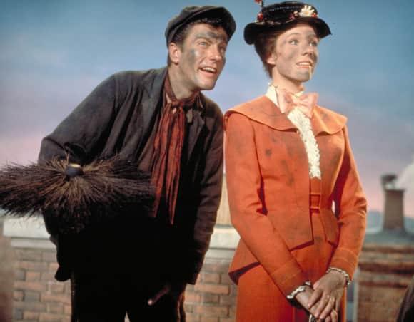 Dick van Dyke und Julie Andrews