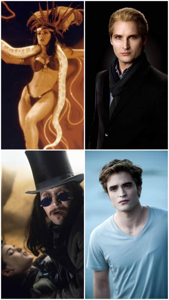 Die heißesten Film-Vampire aller Zeiten