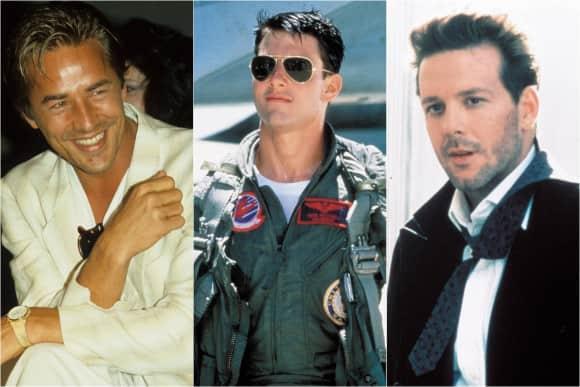 Don Johnson, Tom Cruise und Mikey Rourke