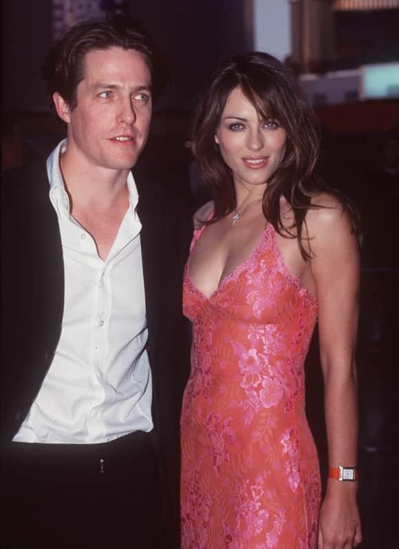 Hugh Grant und Elizabeth Hurley