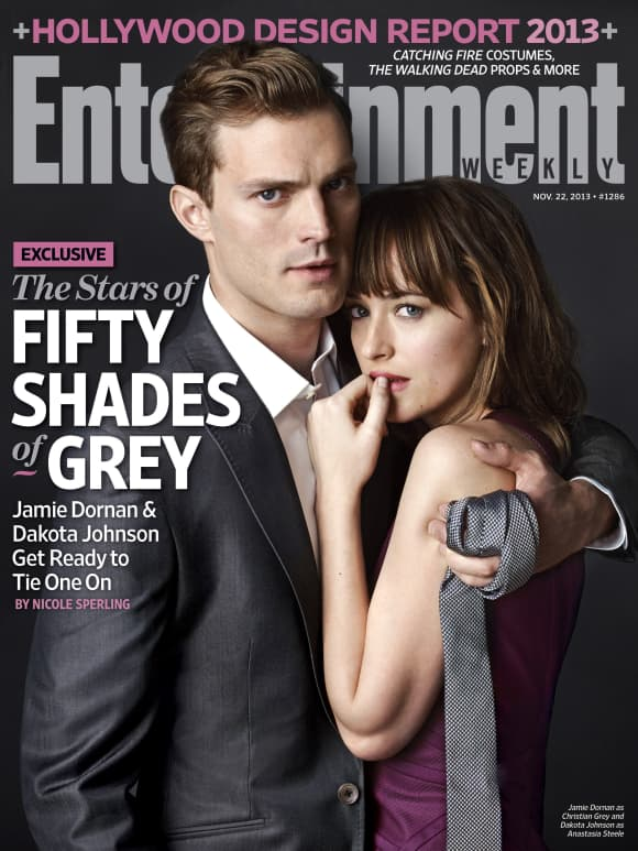 "Jamie Dornan und Dakota Johnson in ""Shades of Grey"""