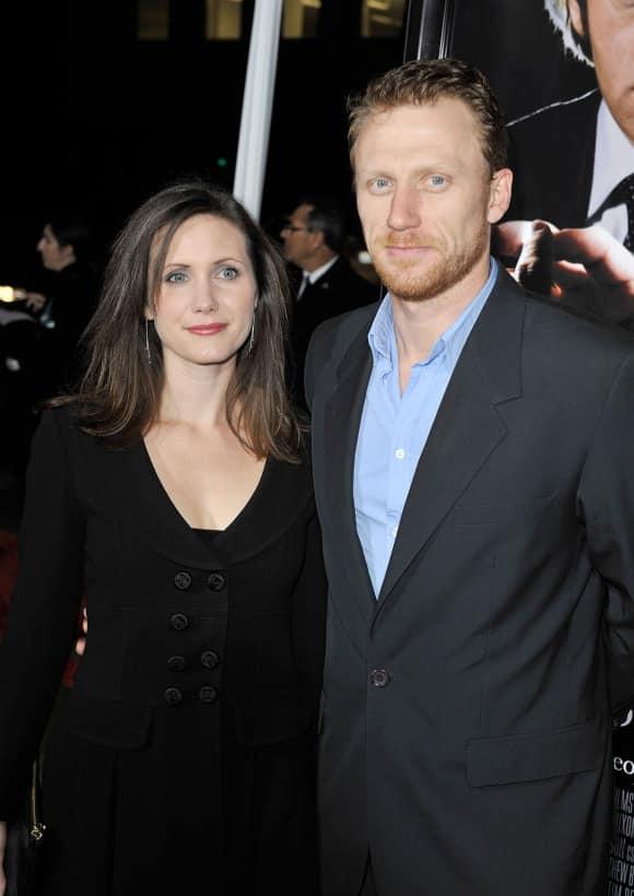 Jane Parker und Kevin McKidd