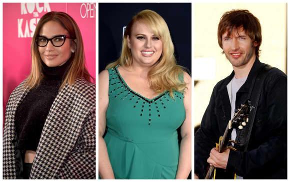 Jennifer Lopez, Rebel Wilson und James Blunt