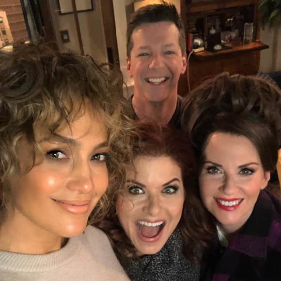 "Jennifer Lopez am ""Will & Grace""-Set"