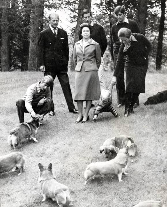 Königin Elisabeth, Prinz Philip und ihre Familie