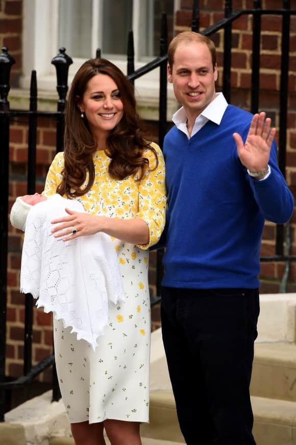 Kate Middleton, Prinz William und Prinzessin Charlotte