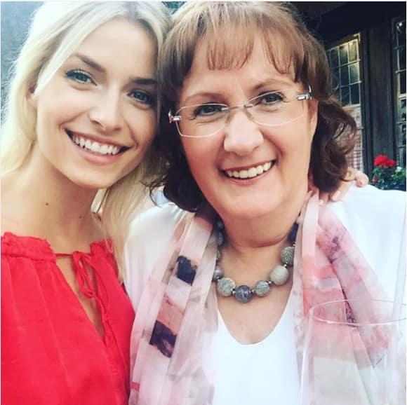 Lena Gercke und ihre Mutter