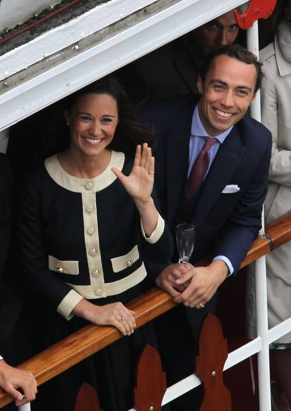 Pippa und James Middleton