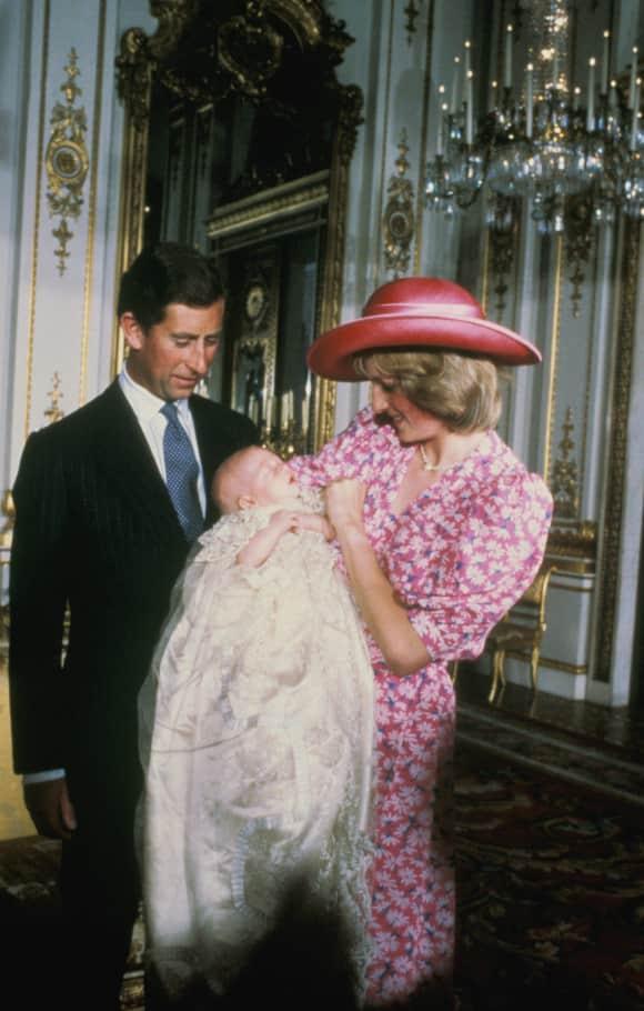 Prinz Charles, Prinz William und Lady Diana