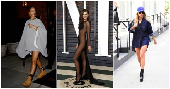 Rihanna, Irina Shayk und Rita Ora