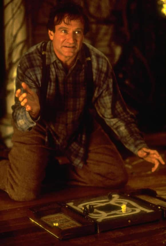 "Robin Williams in ""Jumanji"""