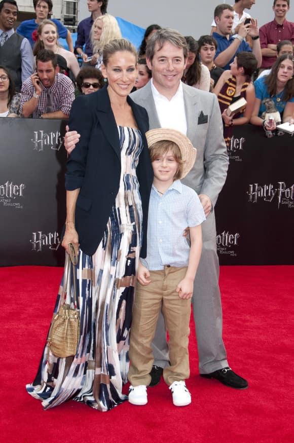 Sarah Jessica Parker, Matthew Broderick und Sohn James