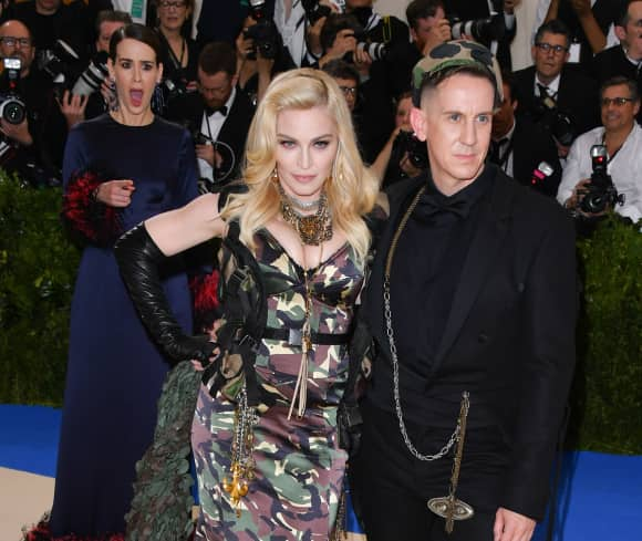 Sarah Paulson, Madonna und Jeremy Scott