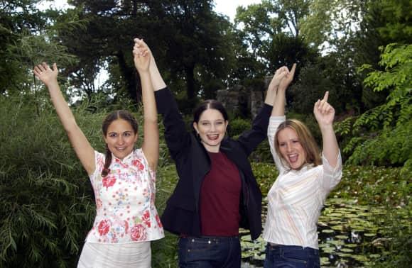 Shirin Soraya, Emily Wood und Nina Vorbrodt