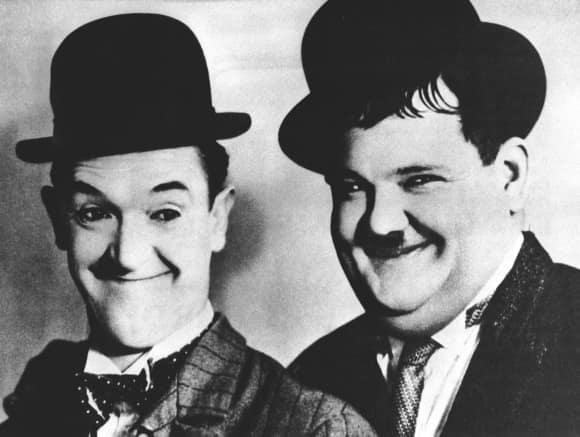 """Stan Laurel und Oliver Hardy alias """"Dick und Doof"""""""