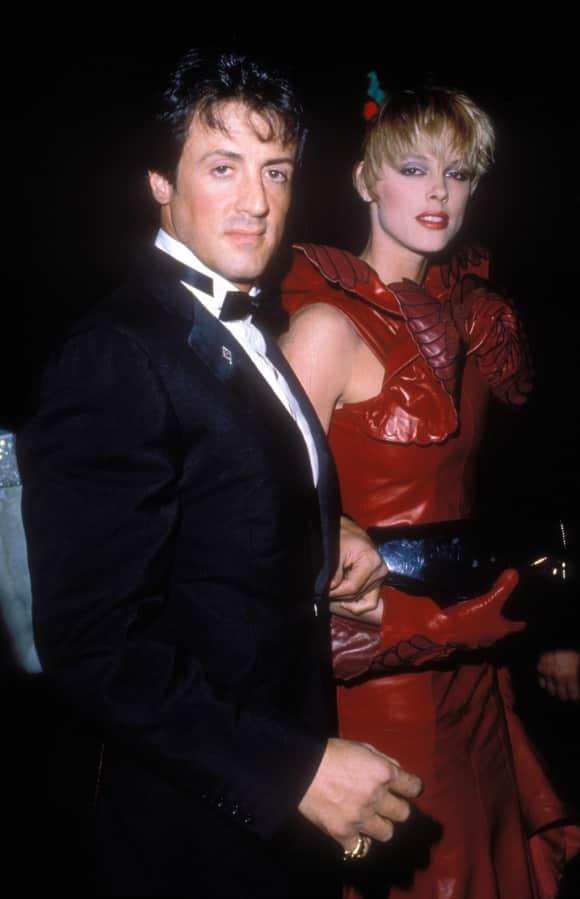 Sylvester Stallone und Brigitte Nielsen