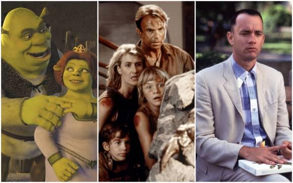 """""""Shrek"""", """"Jurassic Park"""" und """"Forrest Gump"""""""